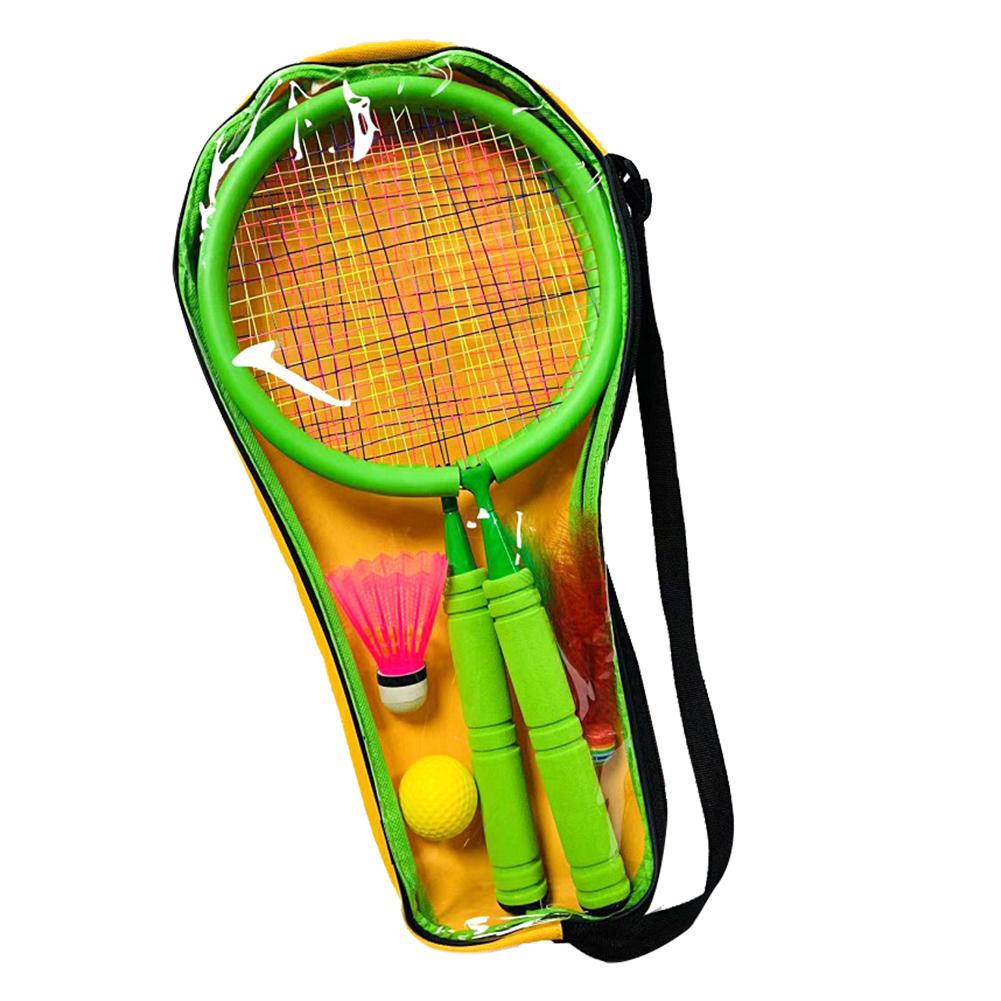 Junior Badminton Tennis Racket For Kids Children Toddlers Starter Racket Badminton Rackets Learn And Play Sports With Ball Bag