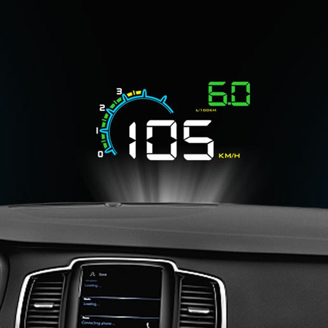 4.8Inch OBD HUD Car Head Up Display Auto On Board Computer hud Display Car Electronics obd2 Car Speedometer Windshield Projector