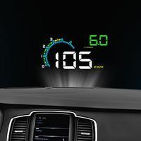4.8Inch OBD HUD Car Head Up Display Auto On Board Computer hud Display Car Electronics obd2 Car Speedometer Windshield Projector
