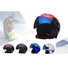 Mounchain Men/Women Skiing Helmet Adjustable Ski Skate Safty protective Equipment with Lens Head Protective Gear
