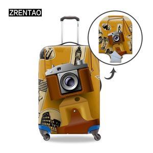 Красивый ваш Дорожный чемодан, Защитные Чехлы, сумки, толстые, высокое качество, растягивающаяся тележка, чехол, протектор, 18-32 дюйма, камера ...