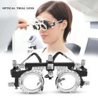 Optische Test Objektiv Rahmen Auge Optometrie Optiker Leicht Veränderbar Zylinder Achse Voll Einstellbare Tempel Länge Und Nase Rest