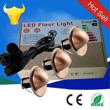 20 штук Светодиодный лампа для загара SMD5050 IP65 светодиодный лестницы DC12v Открытый встроенное освещение для садовых дорожек ступеньки лестницы лампы холодный белый 10 шт./компл