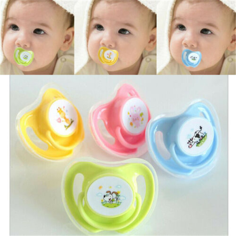 New Baby Kids Orthodontic Dummy Pacifier Silicone Teat Nipple Soothe up