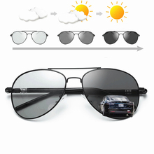 620358f696e Viodream Photochromic Sunglasses Men Polarized Sun Glasses for Driving  Driver s UV400