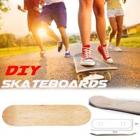 8inch Skateboards Deck Wood Maple 8 Layer Maple Blank Double Concave Skateboards Natural Skate Deck Board