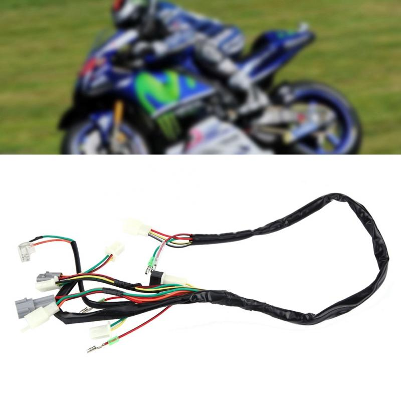 us $8 6 25% off motorcycle replacement wire wiring harness assembly for yamaha pw50 car styling wire harness in wire from automobiles \u0026 motorcycles on Wiring Harness For Yamaha Motorcycles second hand bike parts online yamaha