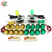 Investment Arcade kit DIY Controller With Zero Delay USB Oval Board ball Joystick Push Button For PC Raspberry pi 1 2 3 MAME opportunity