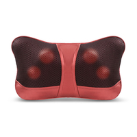 MARESE Home Car Dual use Massage Pillow Shiatsu Back Neck Shoulder Waist Massager Electric Infrared Heated Kneading Massagem