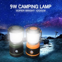 Portable Lantern Tent Light 1000LM LED Bulb Emergency Torch Camping Hanging Flashlight For Camping Fishing Lamp Light Dimmable
