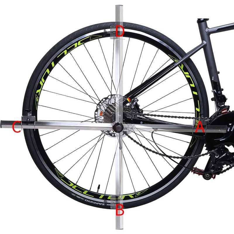 Professionnel vtt vélo dérailleur cintre alignement jauge arrière changement oreille correction queue crochet correction outil vélo réparation outil