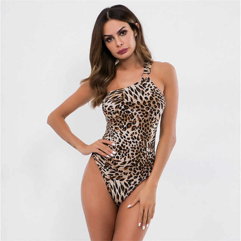 3371607233fd Fashion Women Jumpsuit Bodycon Bodysuit Sexy Ladies Backless Leopard Print  Stretch Party Leotard Top Playsuit Rompers