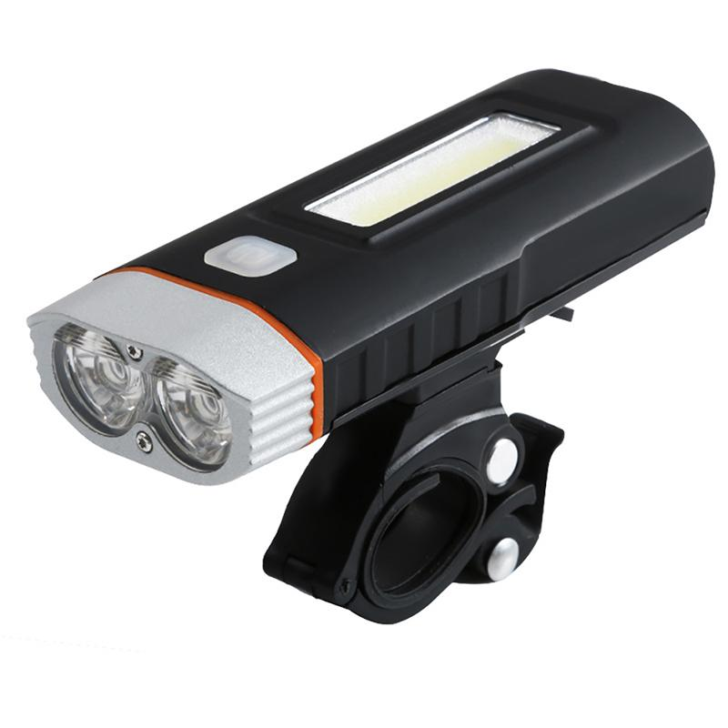 Outdoor Sports Cycling XML-T6/U2 L2 Bicycle Lamp Headlight USB Charging COB Highlight Working Lamp Mountain Bike Glare Lamp