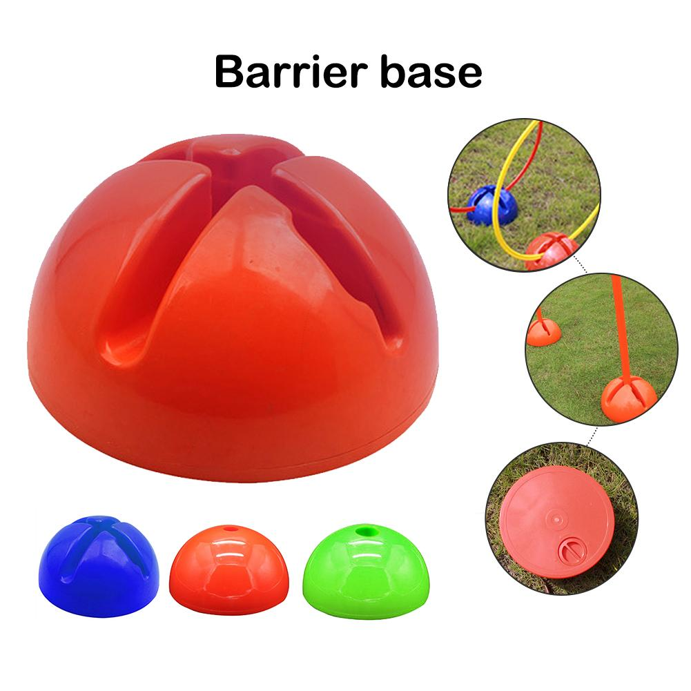 New Football Corner Flag Barrier Base Water Injection Stand Flower Mouth Water Sanding Sign Portable Pole Base Support Wholesale
