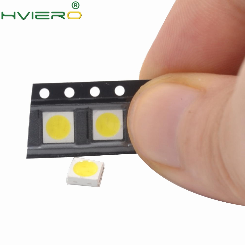 100pcs 5050 White Red Green White Yellow Rgb Purple UV 410~415nm LED SMD SMT CHIPS LED Diode Ultra Bright Light-emitting Diodes silicone jigsaw pattern cover creative notebook red white green purple
