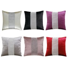 European Style Pillow Case 45x45cm Flannel Diamond Modern Simple Throw Cover Pillowcase Party Hotel Home Textile