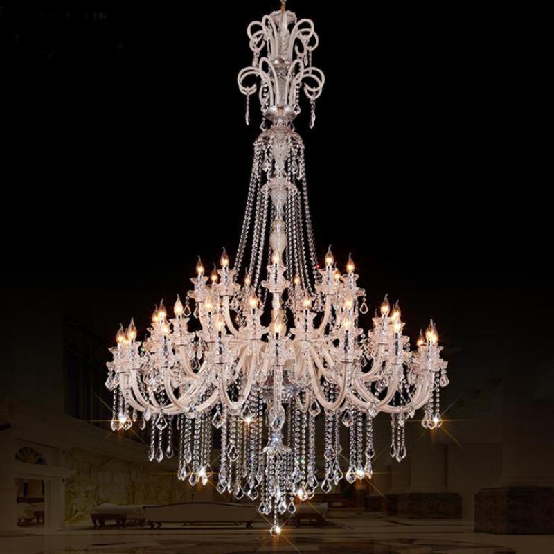 modern 45-arms Stor led ljus Ljuskronor för kyrkan vardagsrum Hotell - Inomhusbelysning - Foto 1