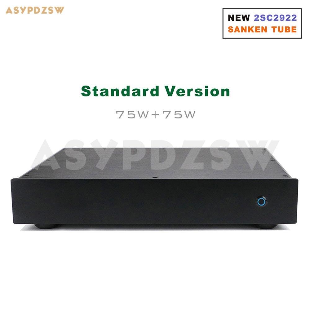 300 W version NAP200 amplificateur de puissance base sur UK NAIM boîtier noir amplificateur de puissance 75 W + 75 W