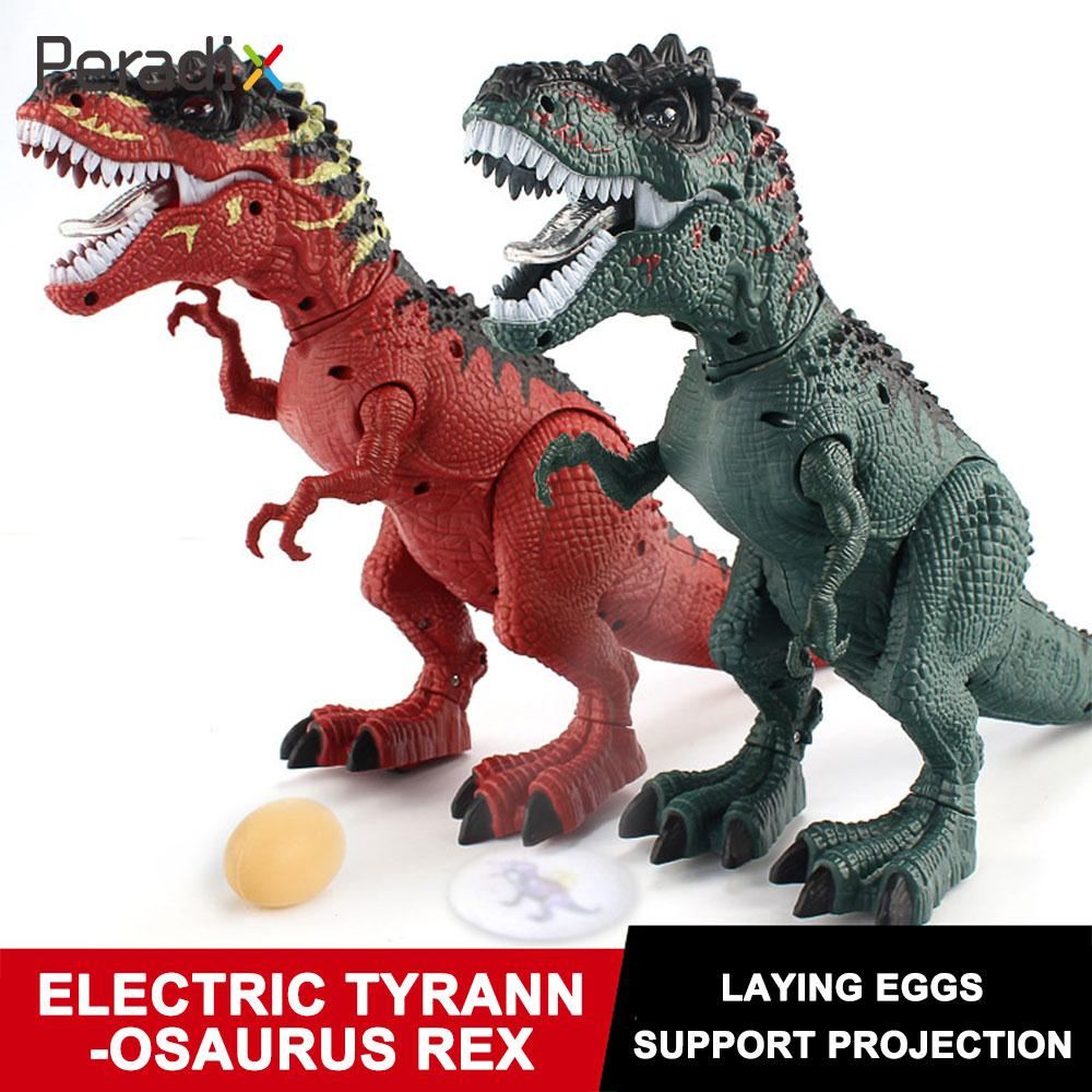 Hot Sell Walking Electric Dinosaur Robot Toy Can Walk,Laying Eggs  Make Sound And With Light Tyrannosaurus Rex Toys Gift For Kid