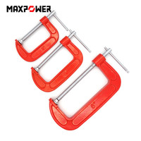 Adjustable Heavy Duty G Clamp Set 3 + 4 +6 C clamp Woodworking Clip Clamp For Woodwork Metal Clamping DIY Carpentry Gadgets