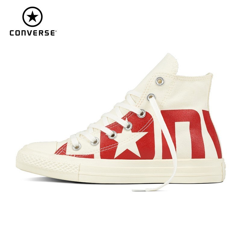 CONVERSE All Star Classic Original Canvas Men And Women Breathable Skateboarding Shoes High Help Light Sneakers#159532C/159533C