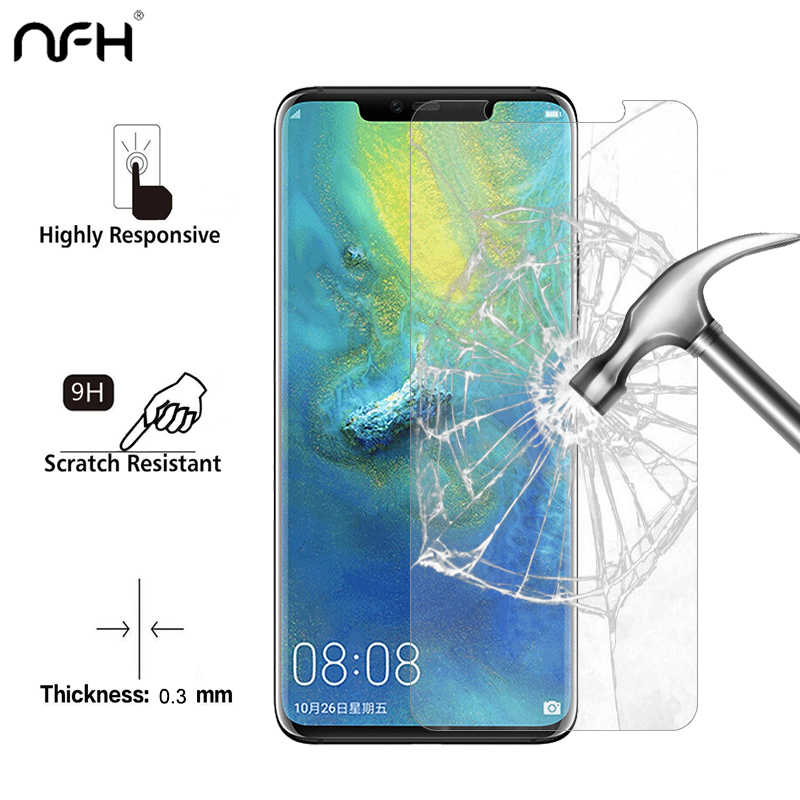 2PCS 3PCS Tempered Glass For Huawei Mate 20 Pro Screen Protector on Mate 20 Pro Glass 2.5D HD Mate 20 Pro Phone Protective Cover