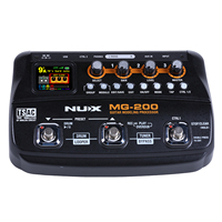 NUX MG 200 Guitar Processor Multi guitar effect pedal 55 Effects 70 Seconds Recording Guitar Looper drum machine (EU Plug)