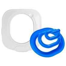 Лучший пластиковый Тренировочный Набор для кошачьего туалета, коробка для туалета, коврик для кошачьего туалета, тренировочный туалет для кошачьего туалета