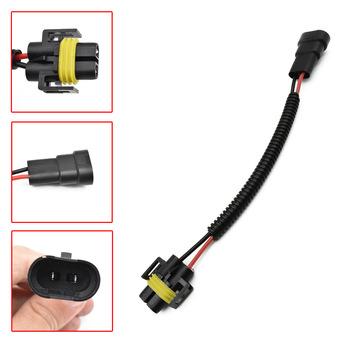 9006 do H11 H8 reflektor przeciwmgielny konwersja okablowanie połączeniowe wtyczka do wiązki przewodów gniazdo kablowe złącze zestaw naprawczy tanie i dobre opinie SIKALI SKL Drut Miedziany Interior Lights