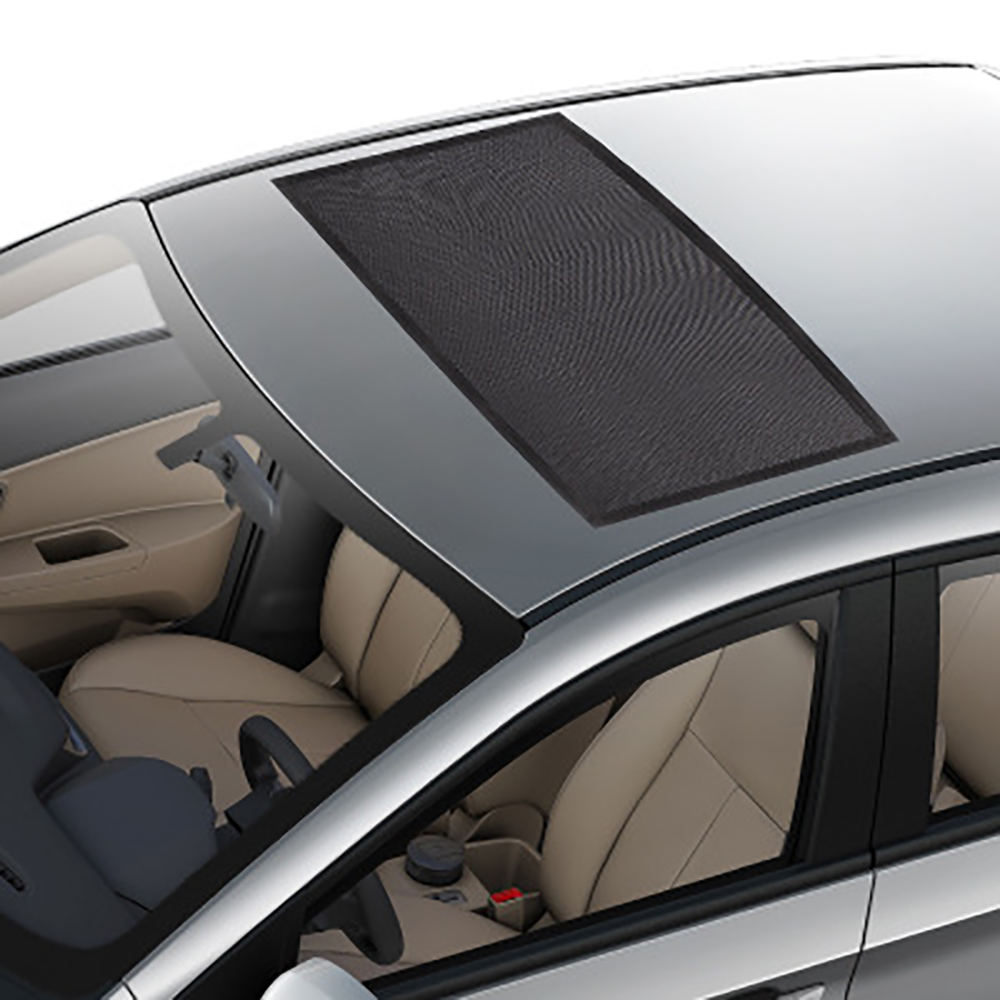 1PC Car Front Rear Sunroof Window Cover Sunshade Curtain UV Protection Shield Visor Mesh Solar Mosquito Dust Pockets