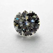 10mm DEF Round Heart and Arrows CutWhite Moissanite Stone  4 carat Diamond