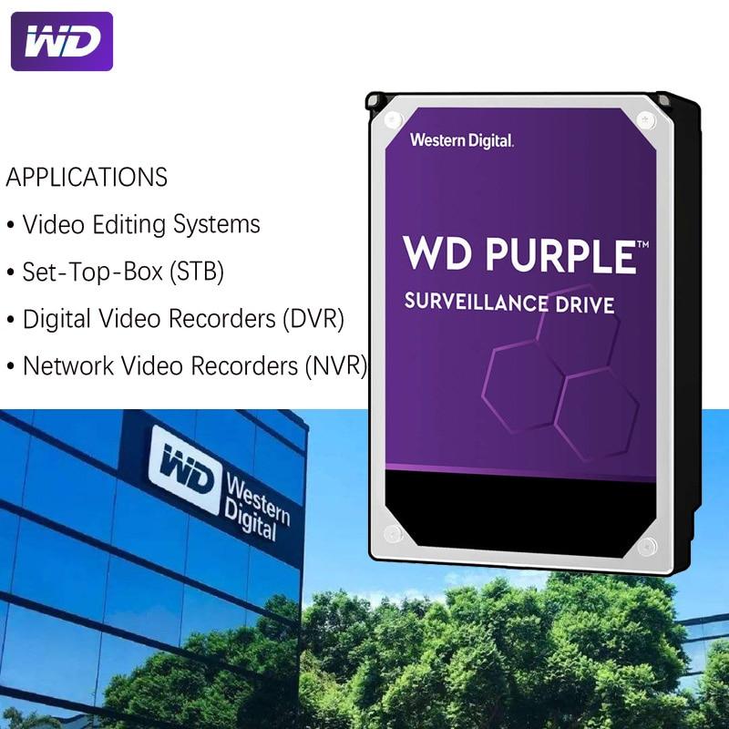 "WD PURPLE Surveillance 1TB Hard Drive Disk SATA III 64M 3.5"" HDD HD Harddisk For Security System Video Recorder DVR NVR CCTV 2"