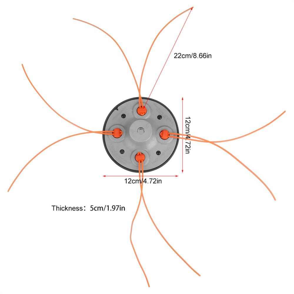Đa Năng Tốc Độ Ăn Dây Tông Đơ Cắt Vườn Cỏ Đầu Tông Đơ Có 4 Dòng Va Đập Máy Cắt Cỏ Bàn Chải Cắt Tông Đơ Cắt Dụng Cụ