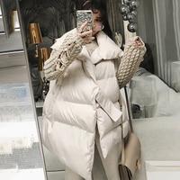 LANMREM 2018 New Fashion Autumn Winter Irregular Hem Sleeveless Long Vest Asymmetrical Thick Cotton waistcoat Vestido YF330