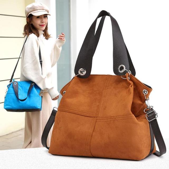 Mulheres marca bolsa bolsa de ombro fêmea sacola grande saco de Veludo macio bolsa de couro mensageiro saco crossbody para as mulheres 2019