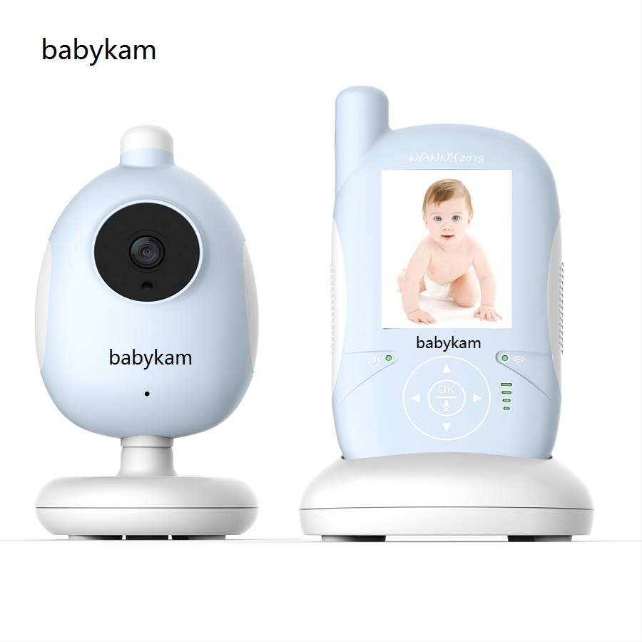 Babykam Baby Mnoitors IR Night vision Lullabies Temperature Monitor Touchable Key Baby Intercom VOX Feeding Alarm