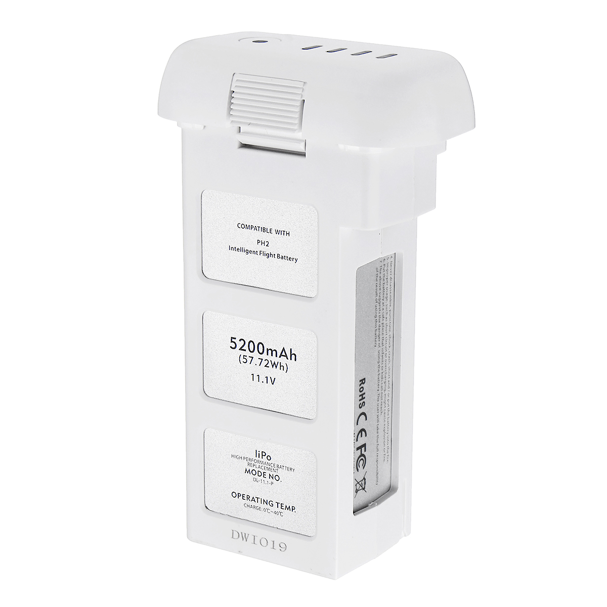 5200mA véritable batterie de vol intelligente DJI Phantom 2 3 15.2 V, LiPo 4 S 856678 P batterie de Drone électronique grand public 2019 nouveau - 3