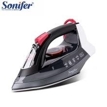 2200 Вт портативный Электрический паровой утюг для одежды Высокое качество керамика soleplate три шестерни 220 В в Sonifer