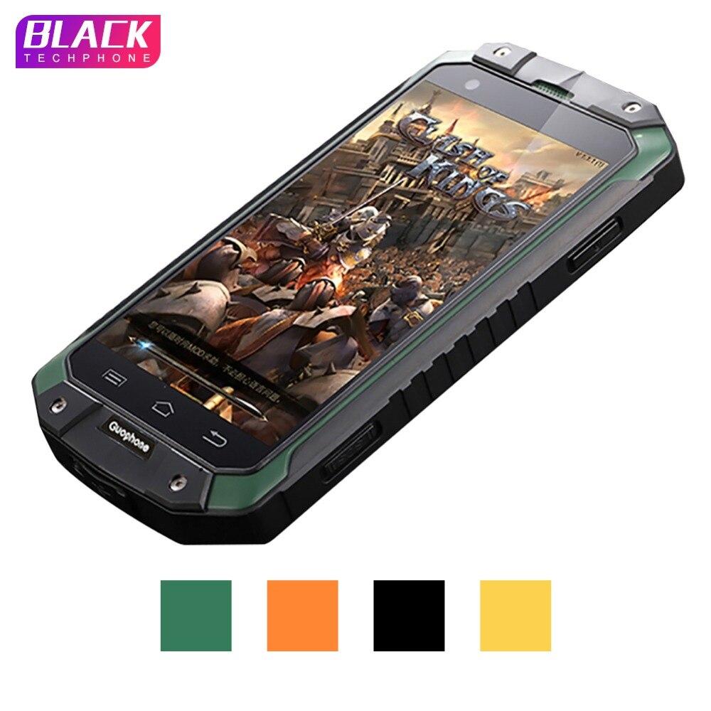 Guophone V9 smartphone 4.0 pouce 1 gb 8 gb IP68 étanche antichoc téléphone MTK6580 Quad Core GPS 3g 8MP android smartphone