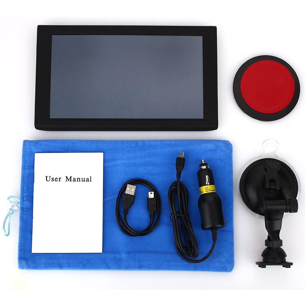 9 pouces GPS navigateur véhicule Navigation capteurs voiture navigateur Portable photographie Album électronique camion gps navigateurs