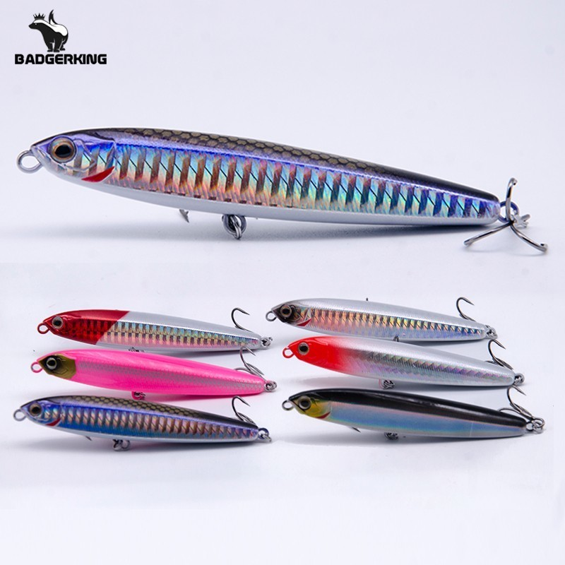 10g 14g 19g 24g Sinking Minnow Pencil Fishing Lure Wobblers Hard Bait Metal Hardbait Artificial Bait Wobbler For Jigging Fishing