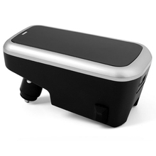 Автомобиль Беспроводной Зарядное устройство для Volvo Xc90 Xc60 S90 V90 C60 V60 2018 2019 мобильный телефон зарядная Пластина Автомобильные аксессуары