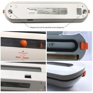 Image 4 - Domowe urządzenie do szczelnego pakowania żywności pakowarka z 10 sztuk torby Free 220V 110V automatyczna handlowa najlepszy próżni, zgrzewarka spożywcza Mini