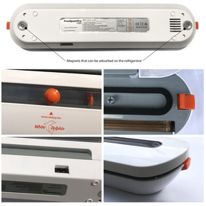 Image 4 - Household Food Vacuum Sealer Packaging Machine With 10pcs Bags Free 220V 110V Automatic Commercial Best Vacuum Food Sealer Mini