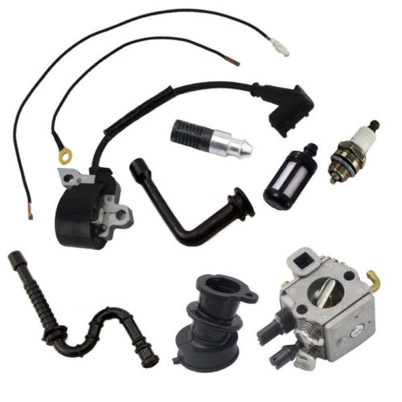Bobine d'allumage de carburateur pour Stihl 034 036 MS340 MS360 Kit Compatible tronçonneuse