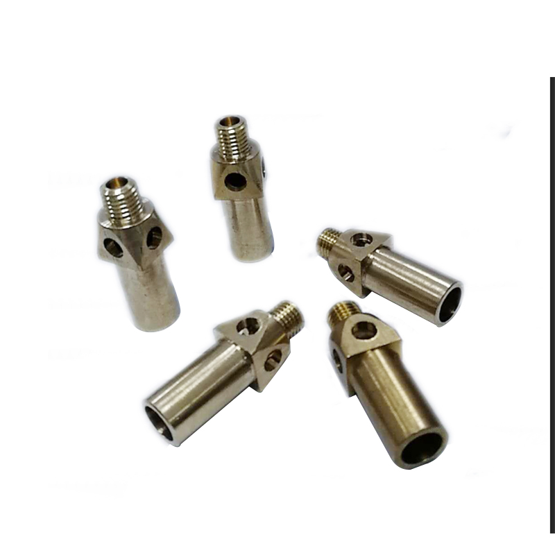 Cast iron jet burner LPG / NG nozzle for cooking stove