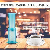 Mini Coffee Machine Manual Coffee Maker Portable Handheld Espresso Maker for Home Traveller DIY Coffee Pot