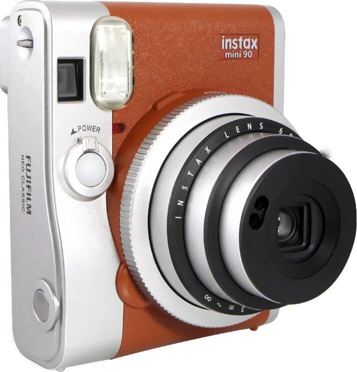 Fujifilm Véritable Instax Mini 90 films caméra offre spéciale nouveau instant photo 2 Couleurs noir brun - 5