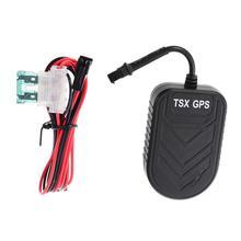 TSX GPS Vehicle Tracker Real-time Tracking Motorcycle Car Bike Antitheft GPS Tracking Device Locator How Location Informati цена 2017