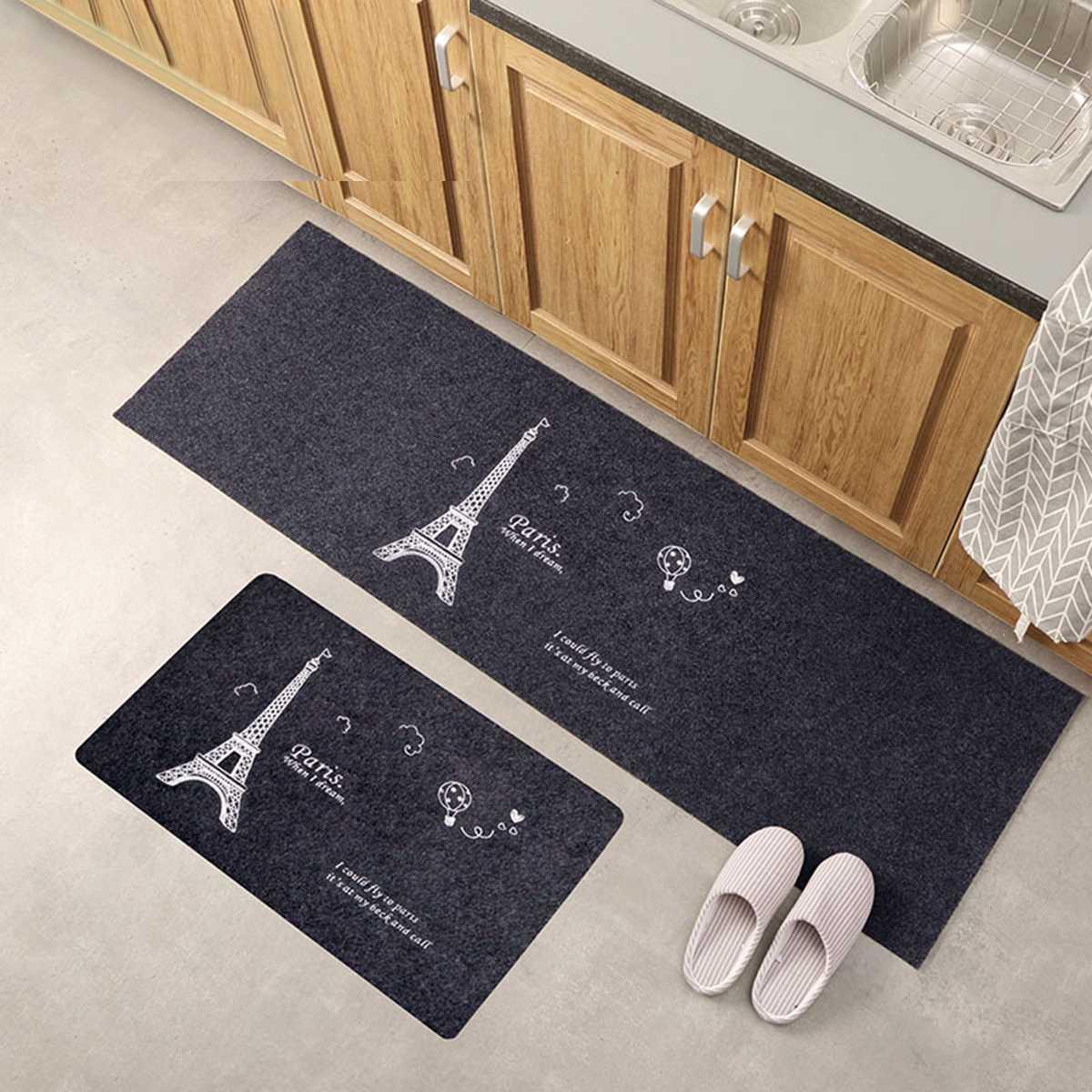 Us 5 69 7 Off Non Slip Home Kitchen Floor Mat Machine Washable Floor Rug Mat Door Runner Hallway Carpet For Bedroom Bathroom Balcony Carpet In Mat